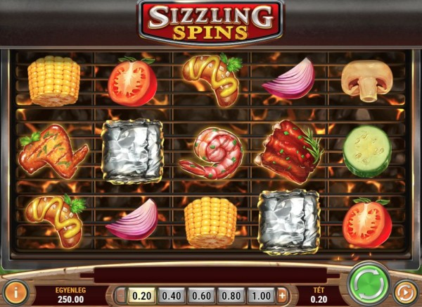 Sizzling Spins 001