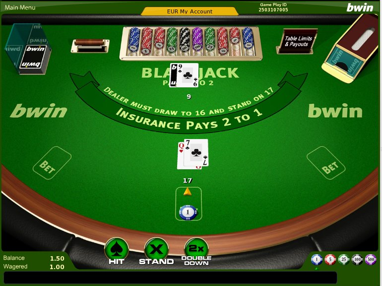 Bwin blackjack android