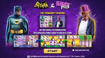 Batman and The Penguin Prize 001