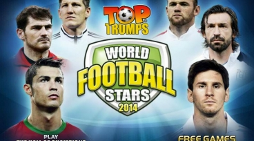 Top Trumps World Footbal Stars 2014