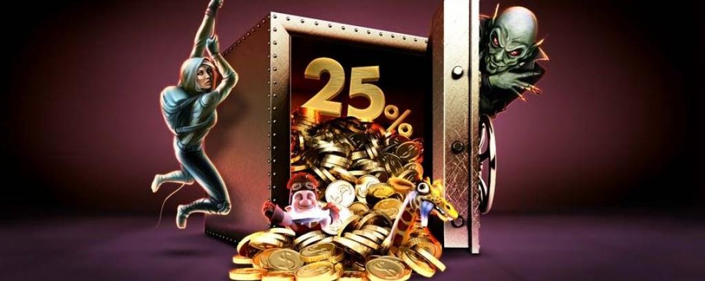 Ne késd le az akár 30.000Ft értékű 25%-os feltöltés bónuszt a bet365 Vegasnál!